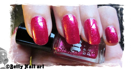 Swatch metallic orange Kleancolor