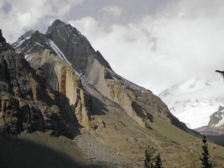 Canyon de Maipo -Vallée du rio volcan - PN el Morado