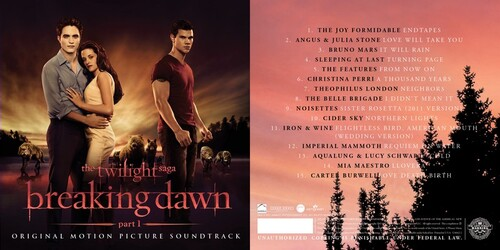 Soundtrack Artwork of Twilight 4 :)