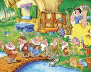 Snow White - Find the alphabets