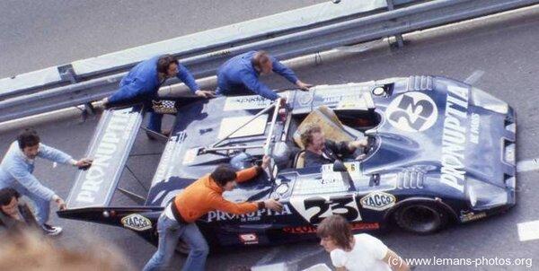 Le Mans 1979 Abandons I