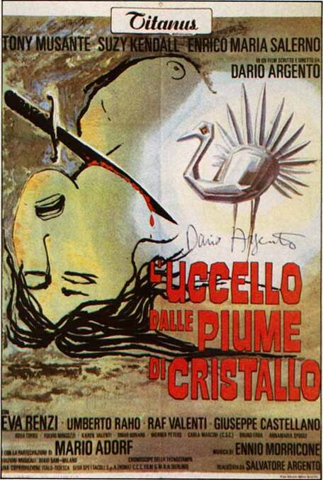 L'OISEAU AU PLUMAGE DE CRISTAL - BOX OFFICE 1971
