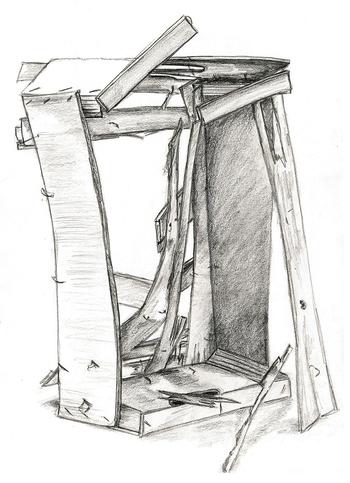 Cagette en bois ombre et lumiere 22 fév 08