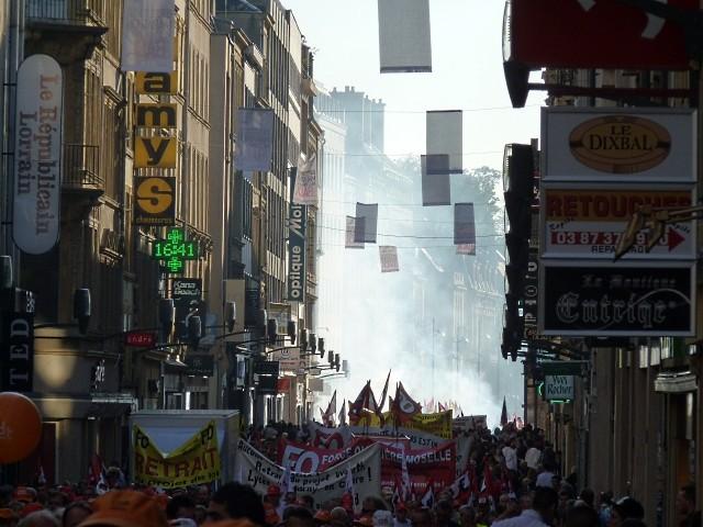 12 octobre Metz 15 2010