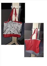 - Deuxième sac fourre-tout et pochette couture