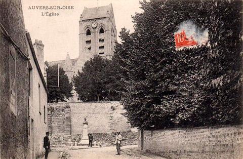 Auvers sur Oise - L'église - L'église d'Auvers sur Oise