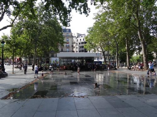 Paris:autour de la Place de la République et du Canal Zaint Martin (photos)