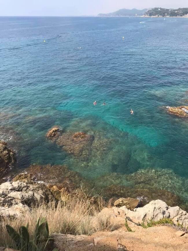 Le chemin de ronde à Lloret de Mar
