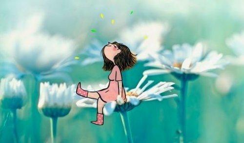 femme-sur-une-fleur-500x293