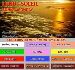 5ème lundi soleil : couleur parme