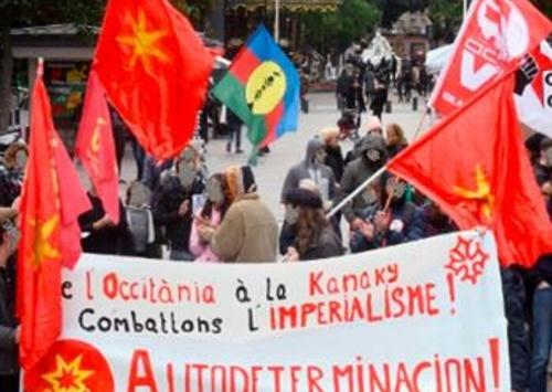 Rassemblements de solidarité avec #Kanaky en Occitània
