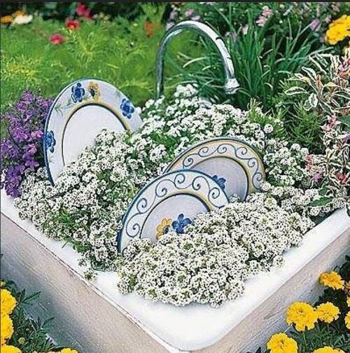Idées du Net pour le jardin