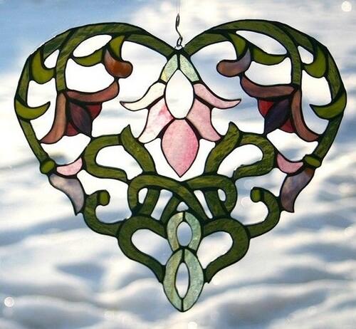 Sal le coeur de fleur...