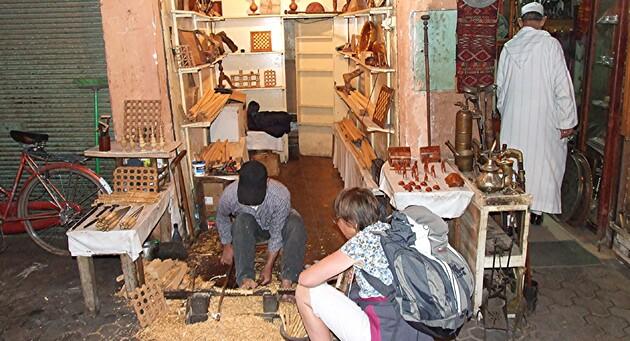 Marrakech 6 / Dans la Médina ( 4) : les artisans