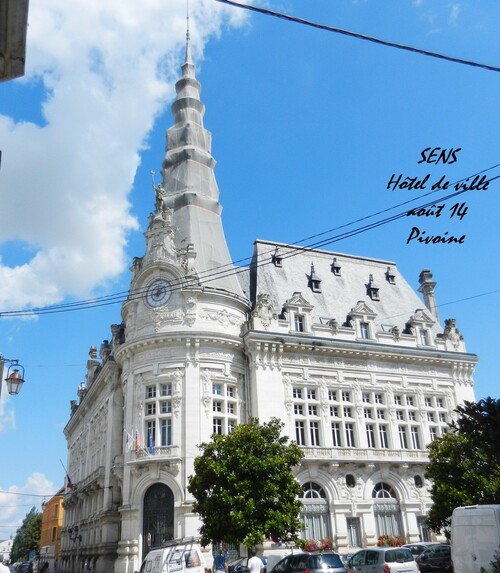 SENS : l'Hôtel de ville