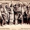 Pawnee Chiefs - Eagle Chief, Knife Chief, Brave Chief, Young Chief and Lakota Chiefs - American Hors