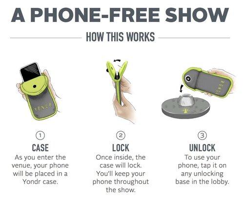 Le Madame X Tour : une experience sans téléphone