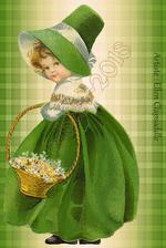 Tubes Fillette St Patrick