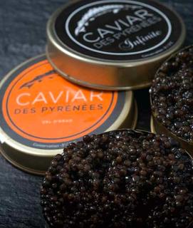 Caviar des Pyrénées bio Val d'Aran