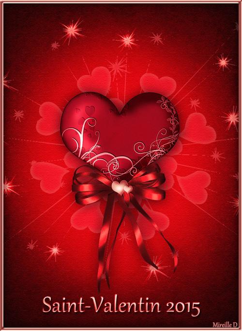 Cartes de Saint-Valentin 2015