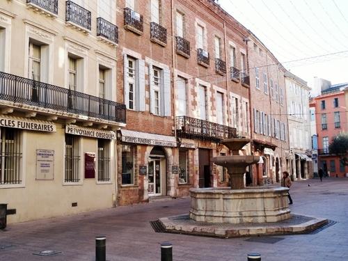 Quelques vues du centre Perpignan, la Catalane (photos)