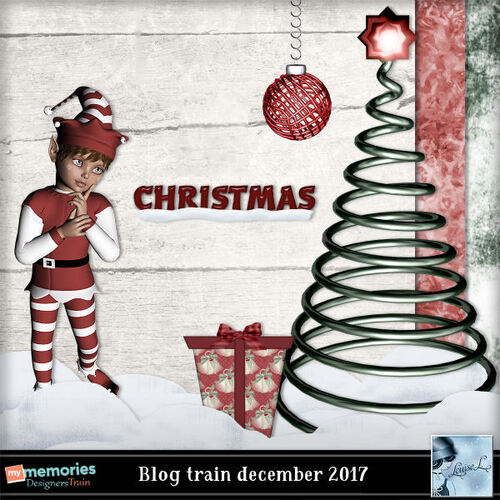 My Memories Déc. Blog Train 2017