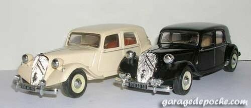 Citroën Traction 15 cv 1952