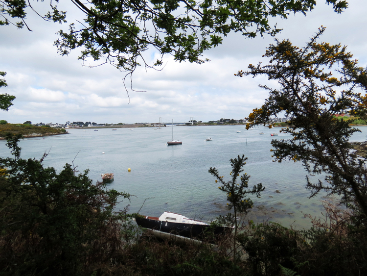 Port Niscop à Pont Lorois (Morbihan)