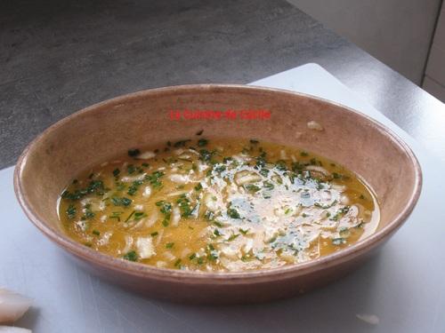 Cabillaud au citron vert et purée de patates douces