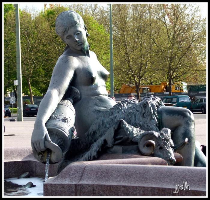 Statues à Berlin et Potsdam