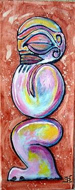Peintures et arts des îles Marquises