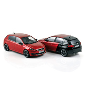 1:43 NOREV 473823 & 473824 PEUGEOT 308 GTi 2015 (exemplaires de production)