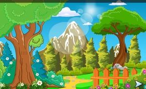 Jouer à Who can escape forest house ?