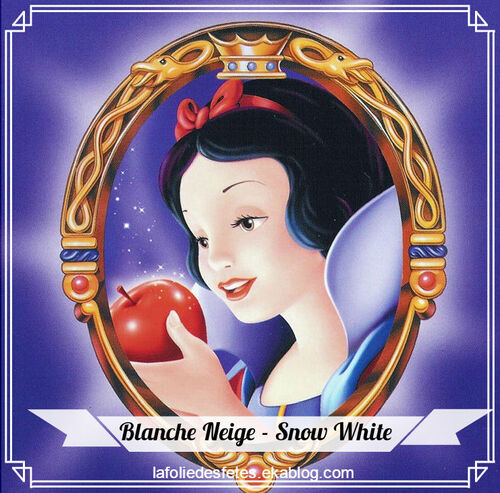 Blanche Neige / Snow White : DIY - le maquillage (make up)