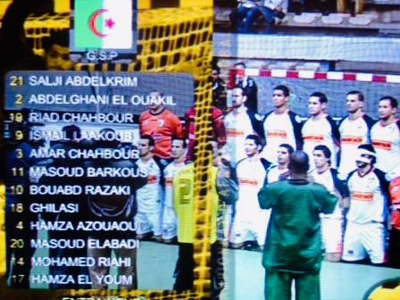 MCA Handball Champion d'Afrique 2008 à Casablanca