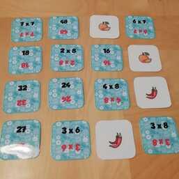 jeu pour réviser les tables de multiplication.