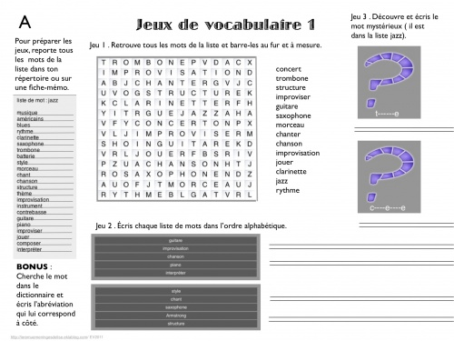 Réaliser des jeux de vocabulaire facilement avec mémot