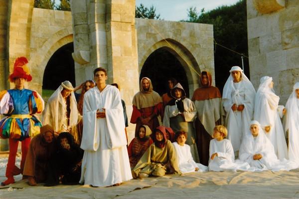 Evocation de saint Bernard par le Rocher des Doms