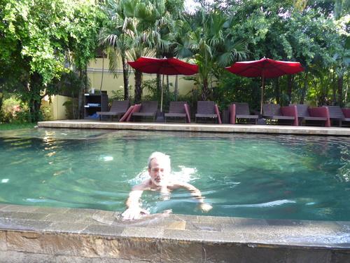 J14, retour à l'hôtel et spectacle, Siem Reap, Cambodge