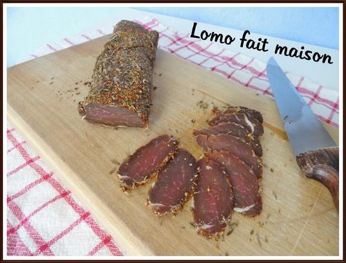 Lomo (ou filet mignon séché)