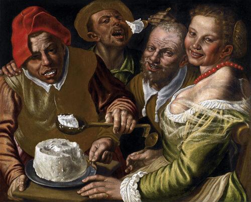Samedi - Le tableau du samedi : Les mangeurs de ricotta
