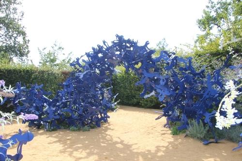 Jardins de Chaumont/Loire, les jardins de la pensée 2018 : 5 premiers tableaux