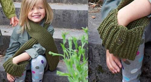 Quelques idées de tricot : châles et écharpes à réaliser