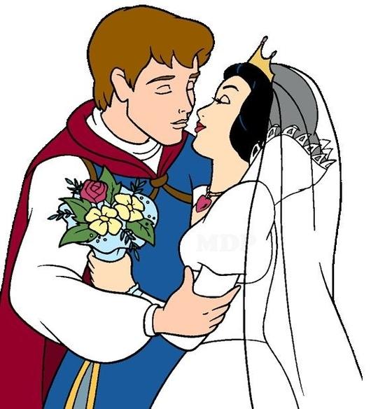 blanche neige mariage
