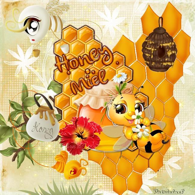 Honey  Miel chez miss satine
