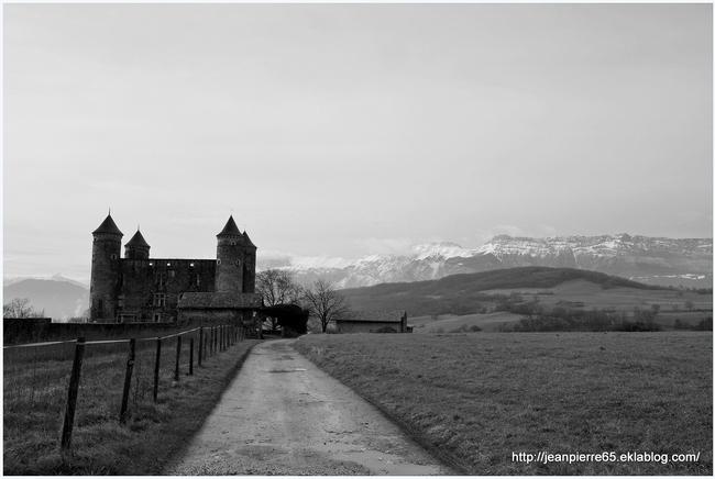"""Château de """"Bon Repos"""", commune de Jarrie (Isère, Rhône-Alpes)"""