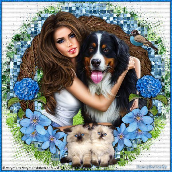 Mon chien et moi
