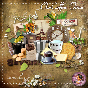 "* Kit ""ChoCoffee Time"""