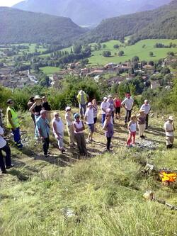 2011 : Débroussaillage de l'ensemble du château