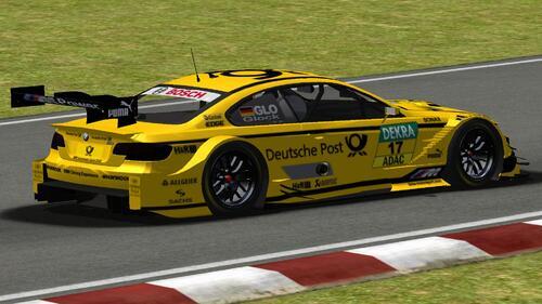 BMW Team MTEK BMW M3 V8